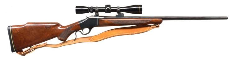 BROWNING B78 SINGLE SHOT RIFLE.