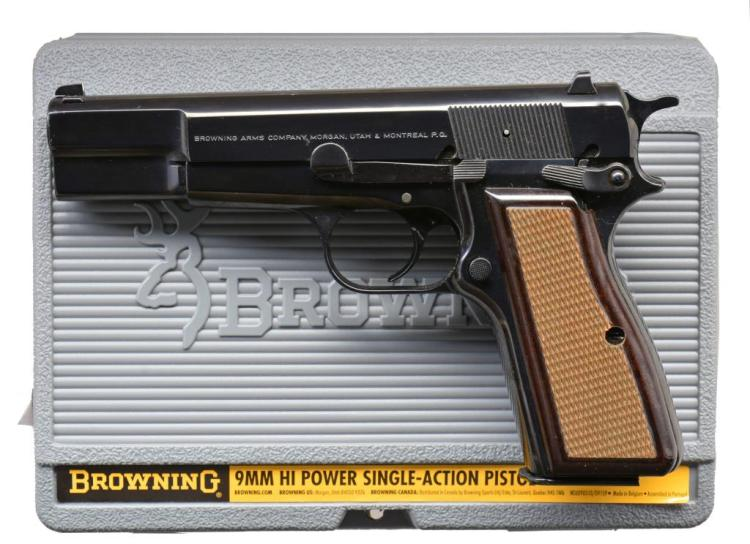 BROWNING HI POWER 75TH ANNIVERSARY SEMI AUTO