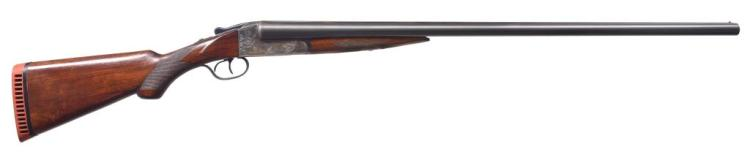 ITHACA FLUES MODEL 2E SXS SHOTGUN.