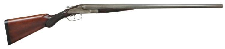 BAKER GRADE B SXS SHOTGUN.