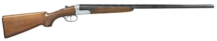 BERETTA MODEL 409PB SXS SHOTGUN.