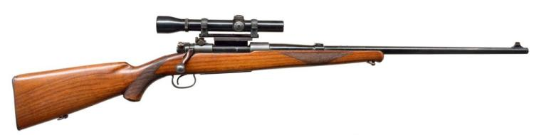 WINCHESTER 54 STAINLESS BARREL BOLT ACTION RIFLE.