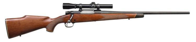WINCHESTER MODEL 70 BOLT ACTION RIFLE.