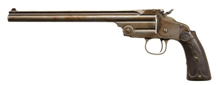 SMITH & WESSON MODEL OF 1891 SINGLE SHOT TARGET
