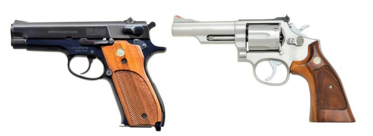 2 MODERN SMITH & WESSON HANDGUNS.
