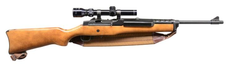 RUGER MINI 30 SEMI AUTO RANCH RIFLE.