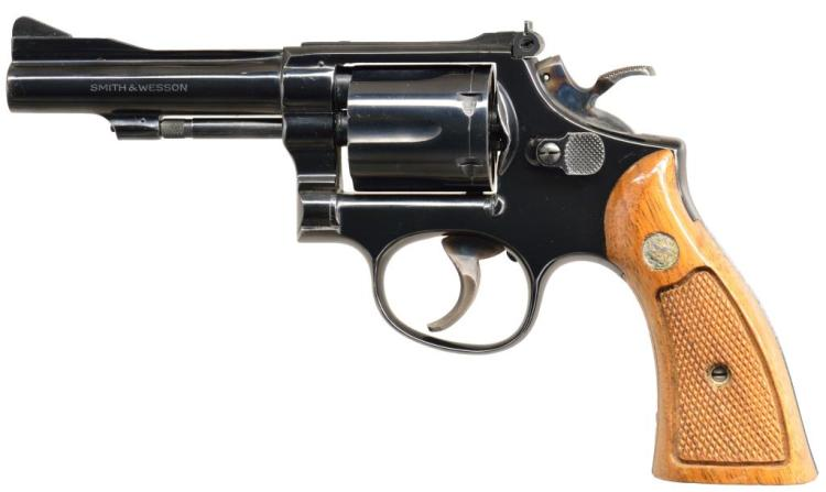 SMITH & WESSON MODEL 15-3 REVOLVER.