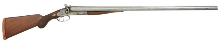 LC SMITH BAKER MODEL DOUBLE BARREL HAMMER SHOTGUN.