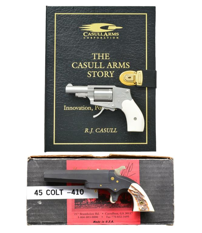 CASULL ARMS CA2000 MINI-FRAME REVOLVER AND
