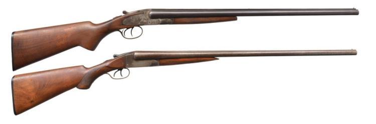 2 FIELD GRADE SXS SHOTGUNS.