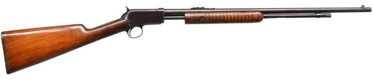 WINCHESTER 62 A PUMP RIFLE.