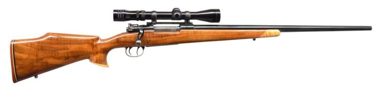 DWM GEW 98 SPORTERIZED BOLT ACTION RIFLE.