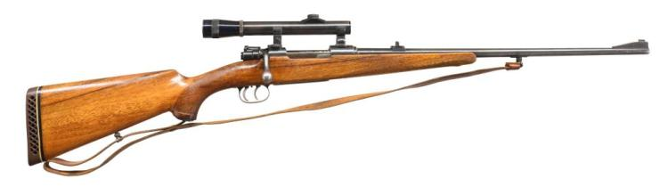 MAUSER M98 BOLT ACTION SPORTING RIFLE.