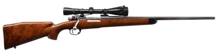 DWM MODEL 98 BOLT ACTION SPORTERIZED RIFLE.