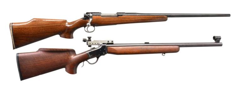2 RIFLES. REMINGTON & WINCHESTER.