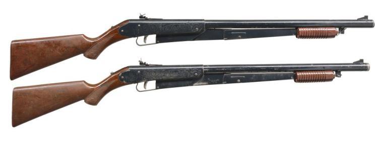 2 DAISY BB GUNS & 1 BAYONET.