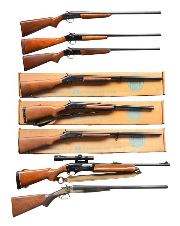 8 SHOTGUNS.