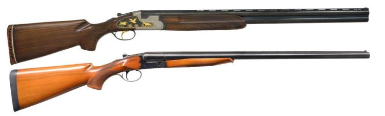 2 SPANISH SHOTGUNS BY FELIX SARASKETA & PEDERSON.