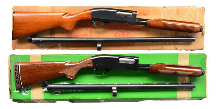 2 REMINGTON MODEL 870 WINGMASTER PUMP SHOTGUNS.