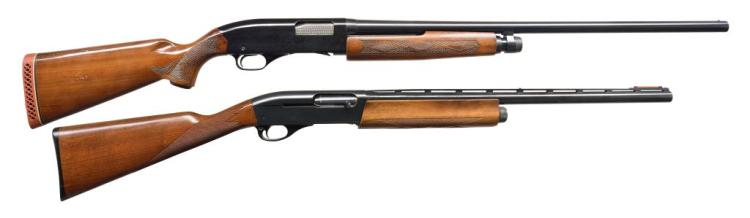 2 SHOTGUNS. REMINGTON AND WINCHESTER.