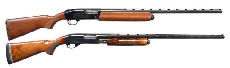 2 SHOTGUNS. MOSSBERG & REMINGTON.