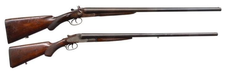 TULA & L.C.SMITH SXS SHOTGUNS.