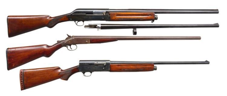 3 SHOTGUNS.