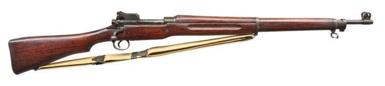 2 EDDYSTONE MODEL 1917 BOLT ACTION RIFLES.