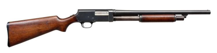 STEVENS 520-30 US MARKED RIOT PUMP SHOTGUN.