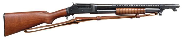 WINCHESTER 1897 TRENCH GUN SHOTGUN.
