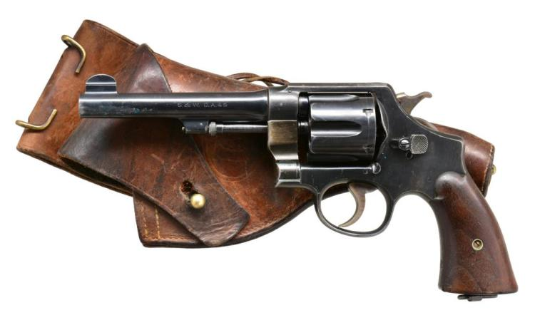 SMITH & WESSON 1917 ARMY DA REVOLVER.
