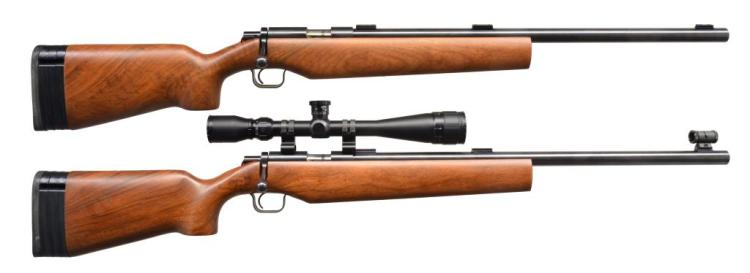 2 KIMBER MODEL 82 GOVERNMENT BOLT ACTION RIFLES.