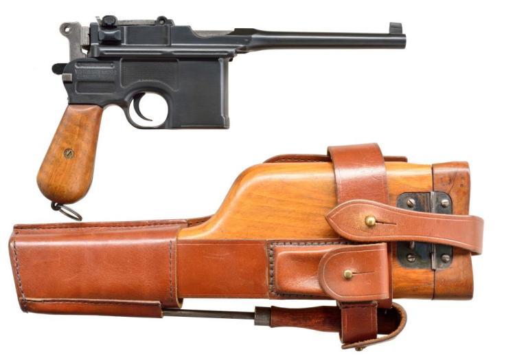 MAUSER STANDARD PRE-WAR COMMERICAL C96 SEMI