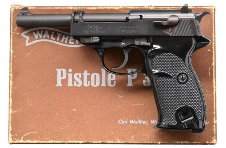 WALTHER P.38 SEMI AUTO PISTOL.