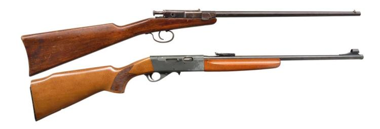 2 CAL. 22 LR GERMAN RIFLES.