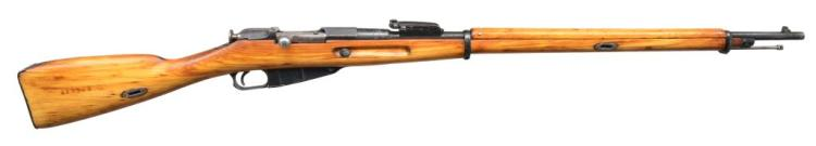TULA ARSENAL MODEL 1891 BOLT ACTION RIFLE.