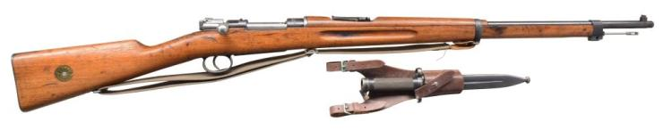 CARL GUSTAFS MODEL 1896 BOLT ACTION RIFLE.