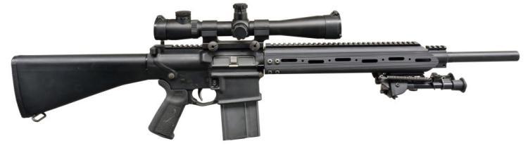 ARMALITE AR-10(T) SEMI AUTO RIFLE.