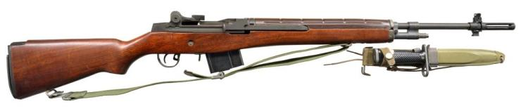 U.S. RIFLE ARMSCORP M14 SEMI AUTO RIFLE.