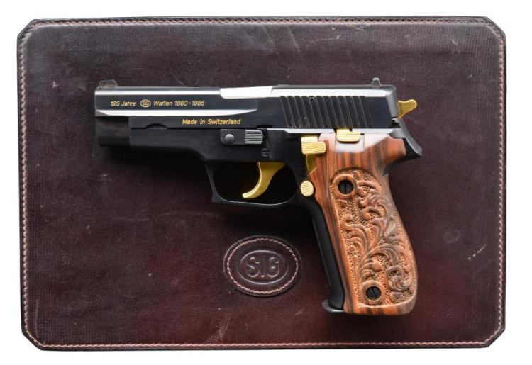 SIG SAUER JP226 125TH ANNIVERSARY COMMEMORATIVE