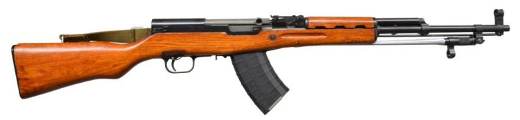 CHINESE NORINCO SKS SEMI AUTO RIFLE.