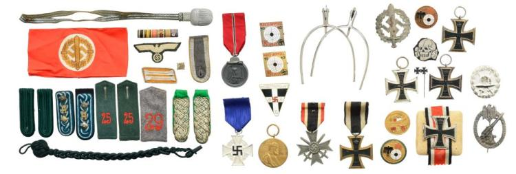 WWII GERMAN AWARDS & MILITARIA.