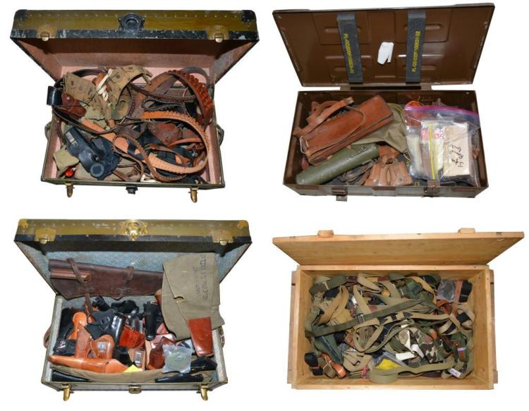LARGE GROUP HOLSTERS, SLINGS, BELTS, POUCHES,