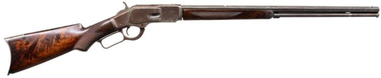 WINCHESTER 1873 DELUXE LEVER ACTION RIFLE.