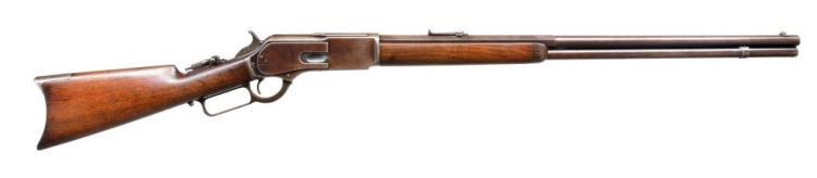WINCHESTER 1876 LEVER ACTION RIFLE.