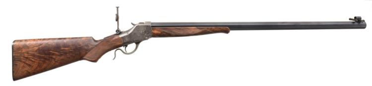 WINCHESTER 1885 HI WALL CUSTOM SINGLE SHOT RIFLE.