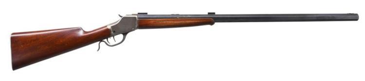 WINCHESTER 1885 HI WALL SINGLE SHOT RIFLE.