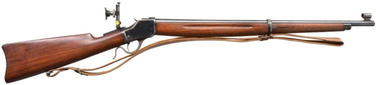 WINCHESTER 1885 HI WALL WINDER SINGLE SHOT MUSKET.