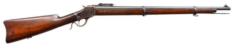 WINCHESTER 1885 HI WALL SINGLE SHOT MUSKET.