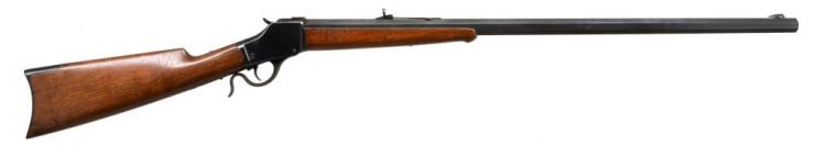 WINCHESTER 1885 HIGH WALL SINGLE SHOT RIFLE.